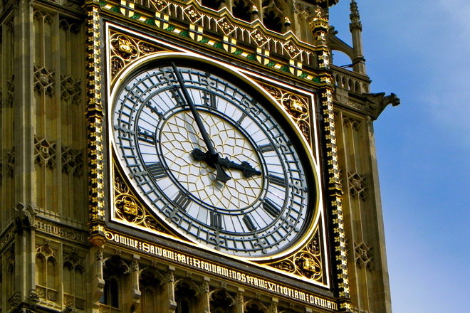 Big Ben representing British politics